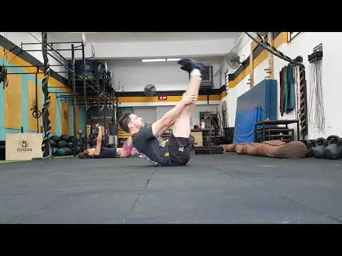 Warm up March Matness 1 to 15 exercise - Crossfit Dádiva