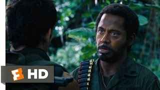 Tropic Thunder (5/10) Movie CLIP Never Go Full Retard