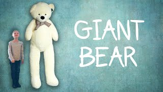 We Bought That Weird Giant Bear From Amazon