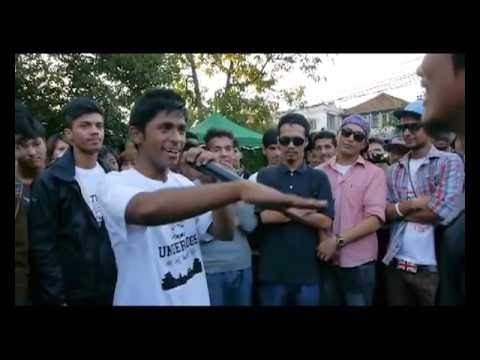 Easi 12 Vs Unik Poet - Raw Barz (RAP BATTLE)