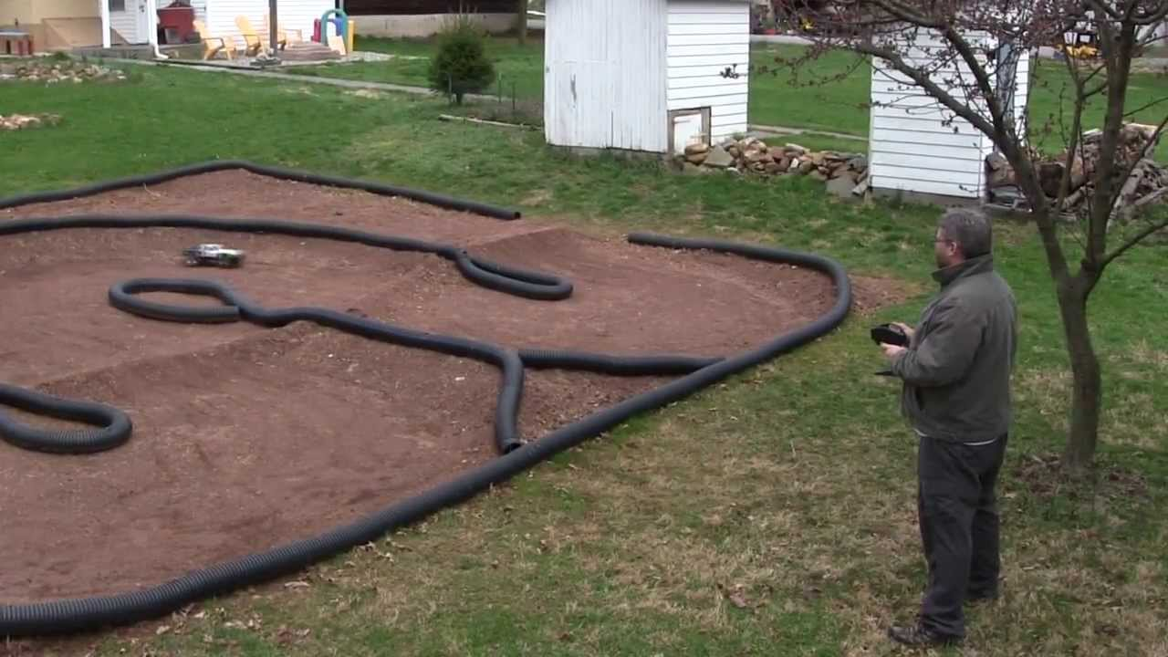 how to make a backyard rc car track tips and techniques