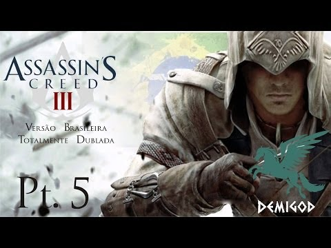Gameplay Assassin's Creed III parte 5 - Nvidia EVGA GTX 650 Ti 2 GB - i3 4130