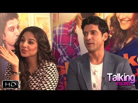 Farhan-Vidya Exclusive On Shaadi Ke Side Effects Part 4