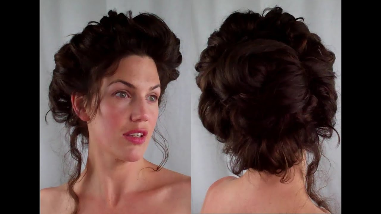 vintage black hairstyles : How to GIBSON girl Hair EDWARDIAN/ VICTORIAN vintage RETRO Hairstyle ...