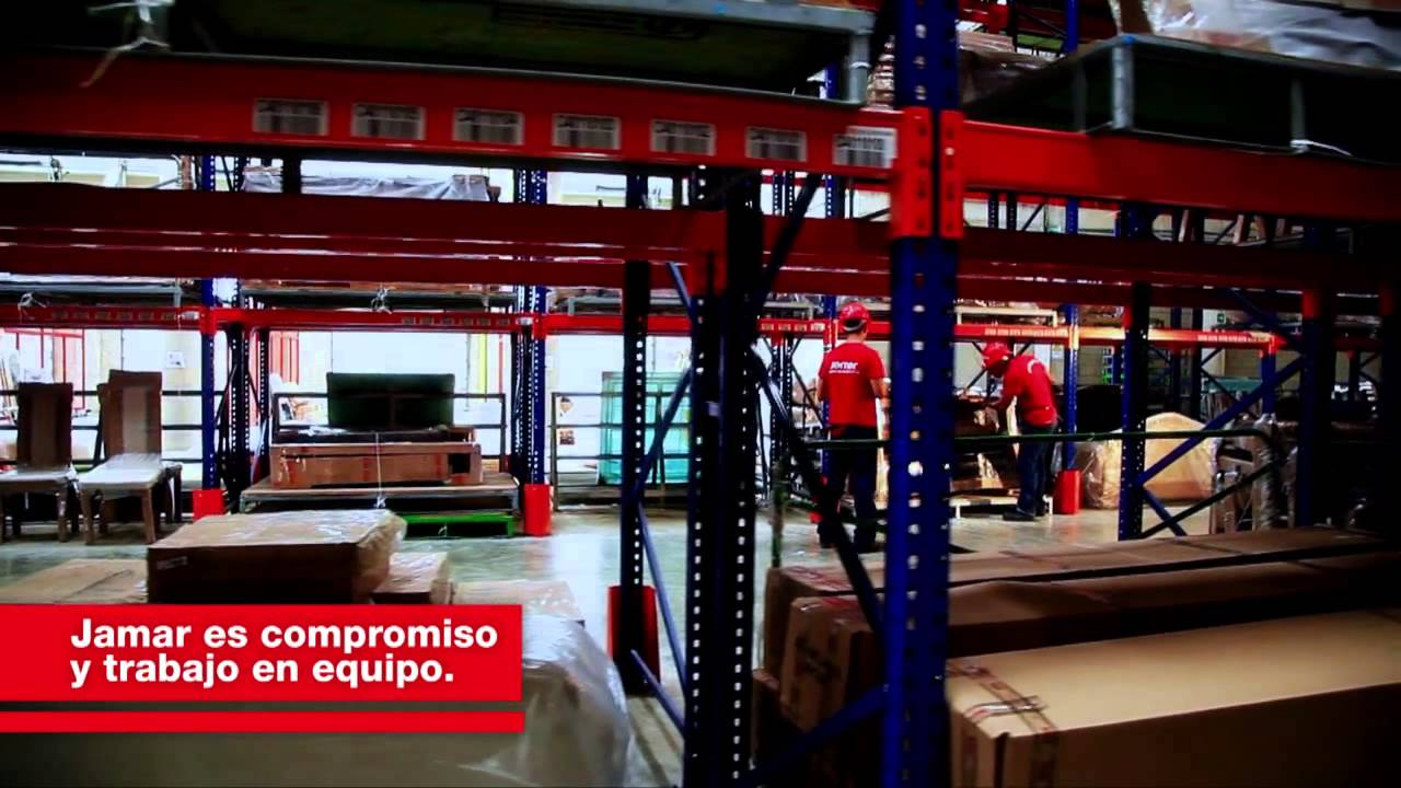 Video corporativo jamar youtube for Mueble jamar