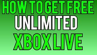 How To Get Free & Unlimited 48 Hour Xbox Live Gold Codes