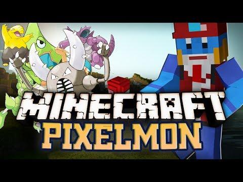Minecraft - PIXELMON (POKEMON MOD)