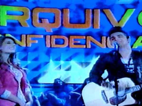 LUAN SANTANA CANTANDO MUSICA RARIDADE NO FAUSTÃO 13/10/2013