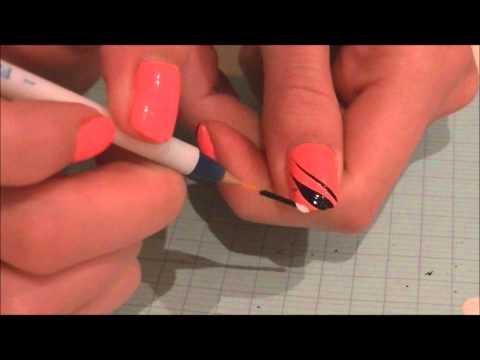 Exemple utilisation des pinceaux nail art + Bon plan EBAY, ze