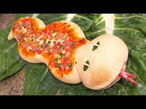 Serpiente de pizza