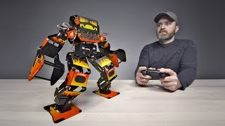 Unboxing a $1300 Professional Fighting Robot