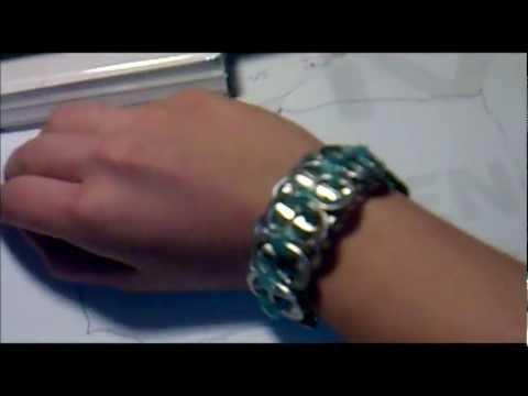 Jak zrobić bransoletkę z zawleczek