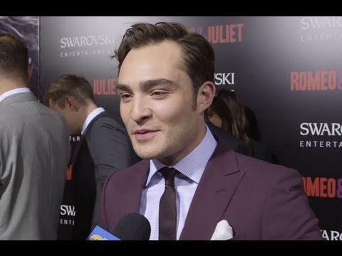 Ed Westwick Romeo and Juliet Interview!