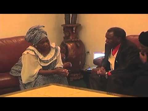 Bp. Kakobe meets DRC President mother & Former 1st Lady