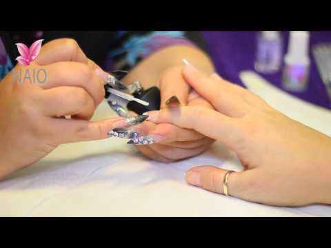Apply Gel Top Coat to an Acrylic Nail Tutorial Video by Naio Nails, http://www.youtube.com/naiouk http://www.naio.co.uk/ http://www.facebook.com/NaioNailsUK Reply with a video response or upload your photos to our facebook an...