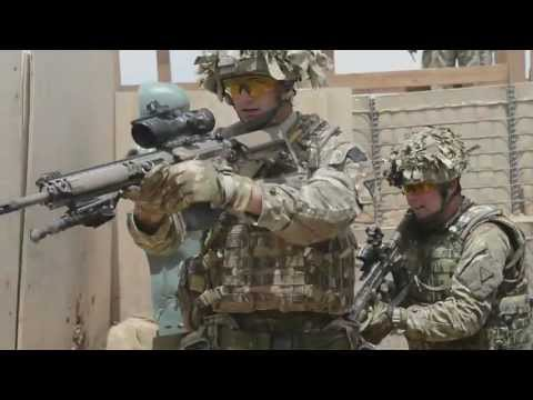 British Army Close Quarters Battle Training