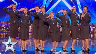 Wartime choir The D-Day Darlings DAZZLE the Judges!   Auditions   BGT 2018