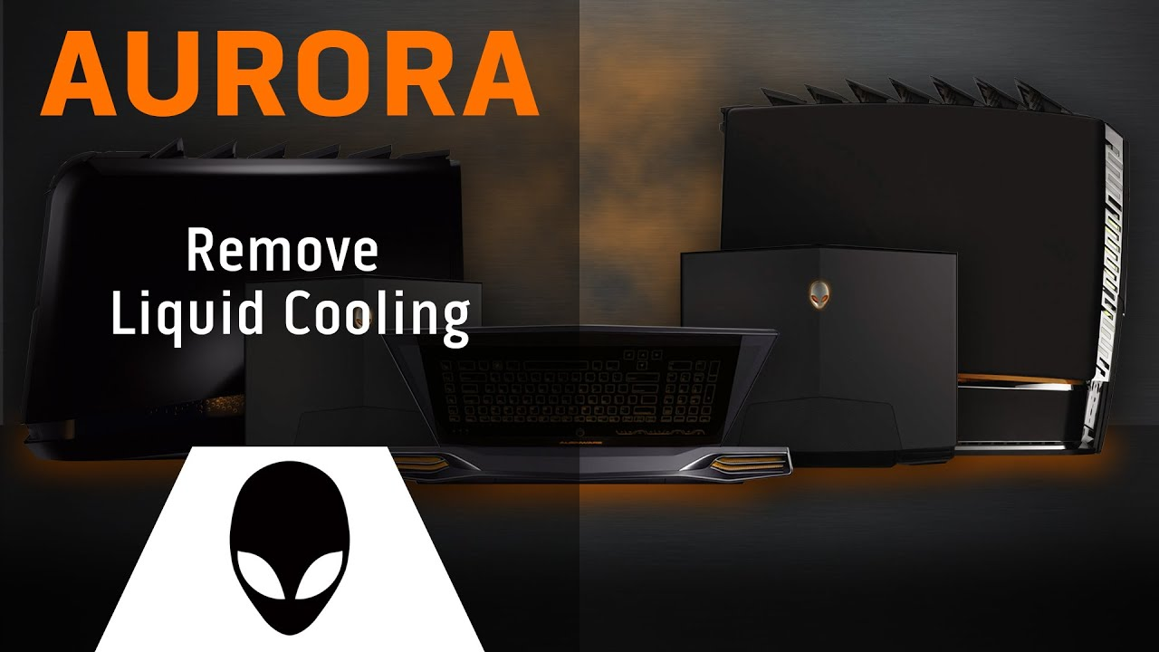 How to Replace the Liquid Cooling System in the Alienware Aurora  #CA5C01