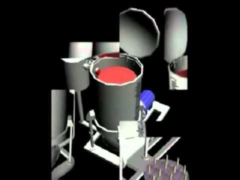 Yarn Package Dyeing Machine