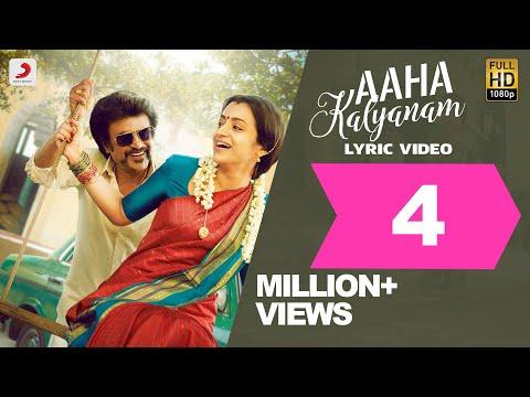 Aaha Kalyanam Song Lyric - Tamil - Petta Songs - Rajinikanth, Trisha - Anirudh Ravichander