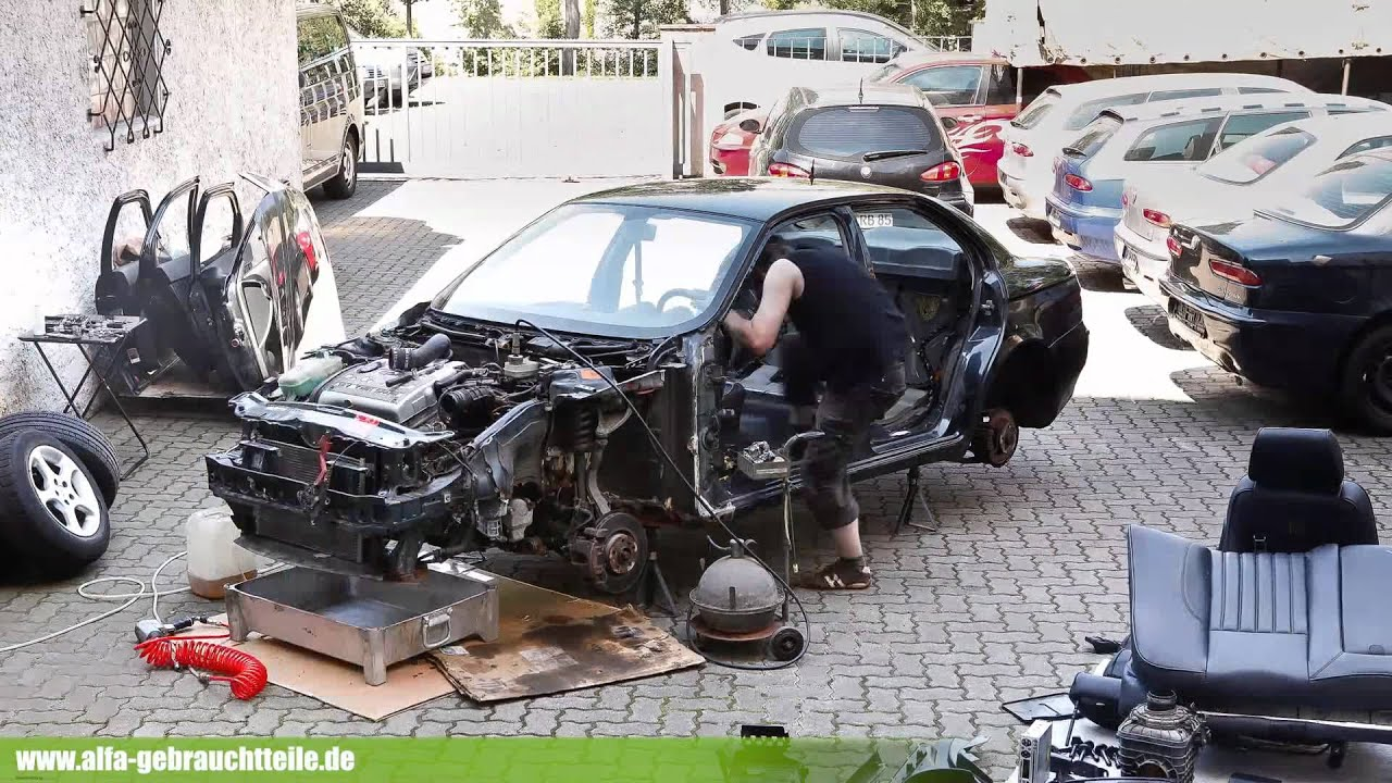 How To Build An Alfa Romeo 156 From Spare Parts