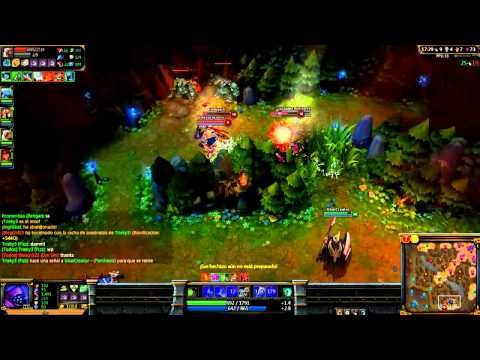 League Of Legends Jax [ASESINATO CUÁDRUPLE 4VS1] [Con iUnaiCreator]
