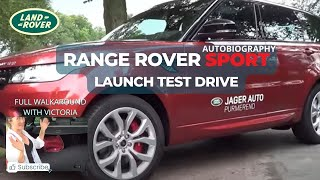 Discovering the new Range Rover Sport Autobiography