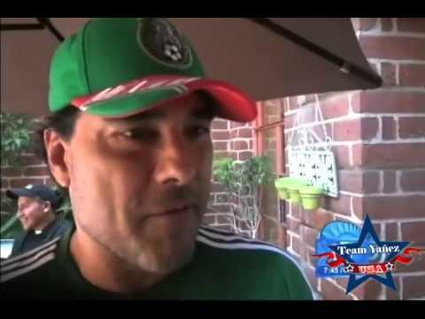 Eduardo Yañez esto platico sobre la eliminacion de Mexico en #Brasil2014