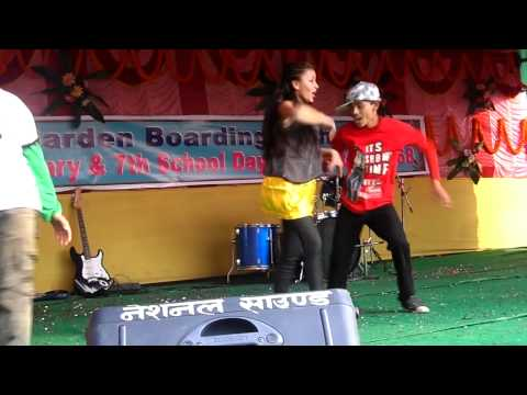 simple simple kanchi ko dimple parne gala (students dance)