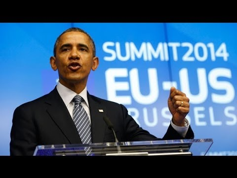 Barack Obama: US and EU will coordinate deeper sanctions against Russia