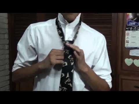 Como hacer un nudo de corbata (WINDSOR)