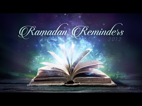 Ramadan Reminder Day 22 - Etiquettes of Du'a - Yasir Qadhi | August 2012