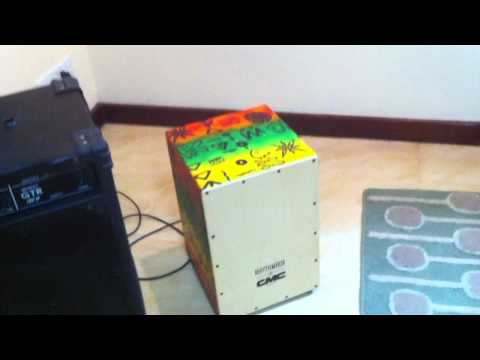 Cajon Electric drum Outpour Movent