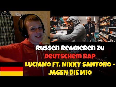 RUSSIANS REACT TO GERMAN RAP | LUCIANO FT. NIKKY SANTORO - JAGEN DIE MIO | REACTION TO GERMAN RAP