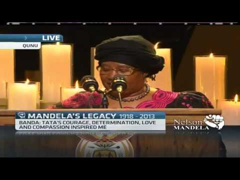 Banda bids farewell to Madiba