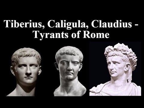 nero tiberius and caligula Tiberius served as roman emperor from 14 ad to 37 ad he was born tiberius claudius nero and took the name tiberius julius.