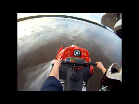 Arctic cat f6 crash on water gopro