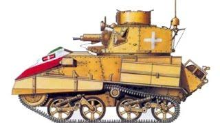 Italia In Guerra: Carri Armati Nel Deserto.