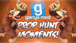 Garrys Mod Prop Hunt Funny Moments! - Titanic, Epic Escapes, Floating Bananas and More!