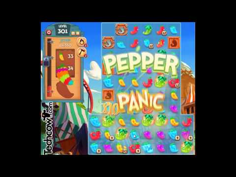 Pepper Panic Saga Level 301