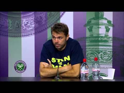 Wawrinka looking forward to Federer challenge - Wimbledon 2014
