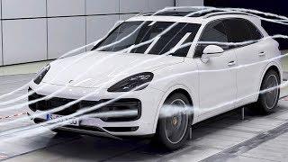Porsche Cayenne (2018) Aerodynamics. YouCar Car Reviews.