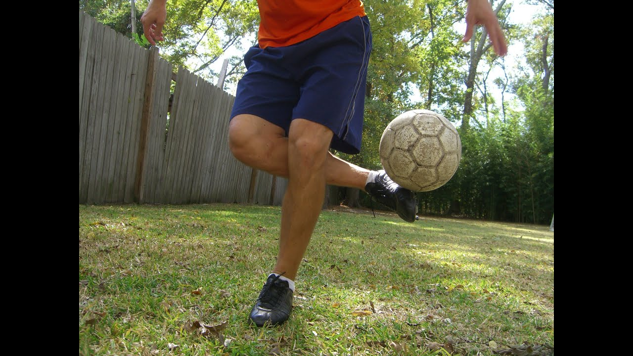 Soccer Tricks - Roll Over Plant Foot Pick Up Trick