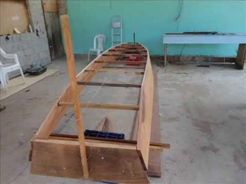 como fazer um barco de madeiras