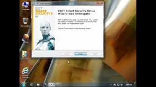 How To Uninstall ESET Smart Security 6 (RC)