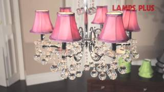 Simple & Affordable Chandelier Makeovers With Shades