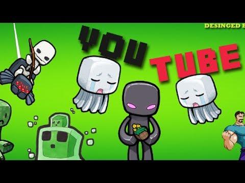youtube minecraft channel art 2048x1152