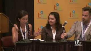 BEA 2012 - BEA Bloggers Panel - Blogging Today