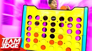 Giant Connect 4 Challenge!!