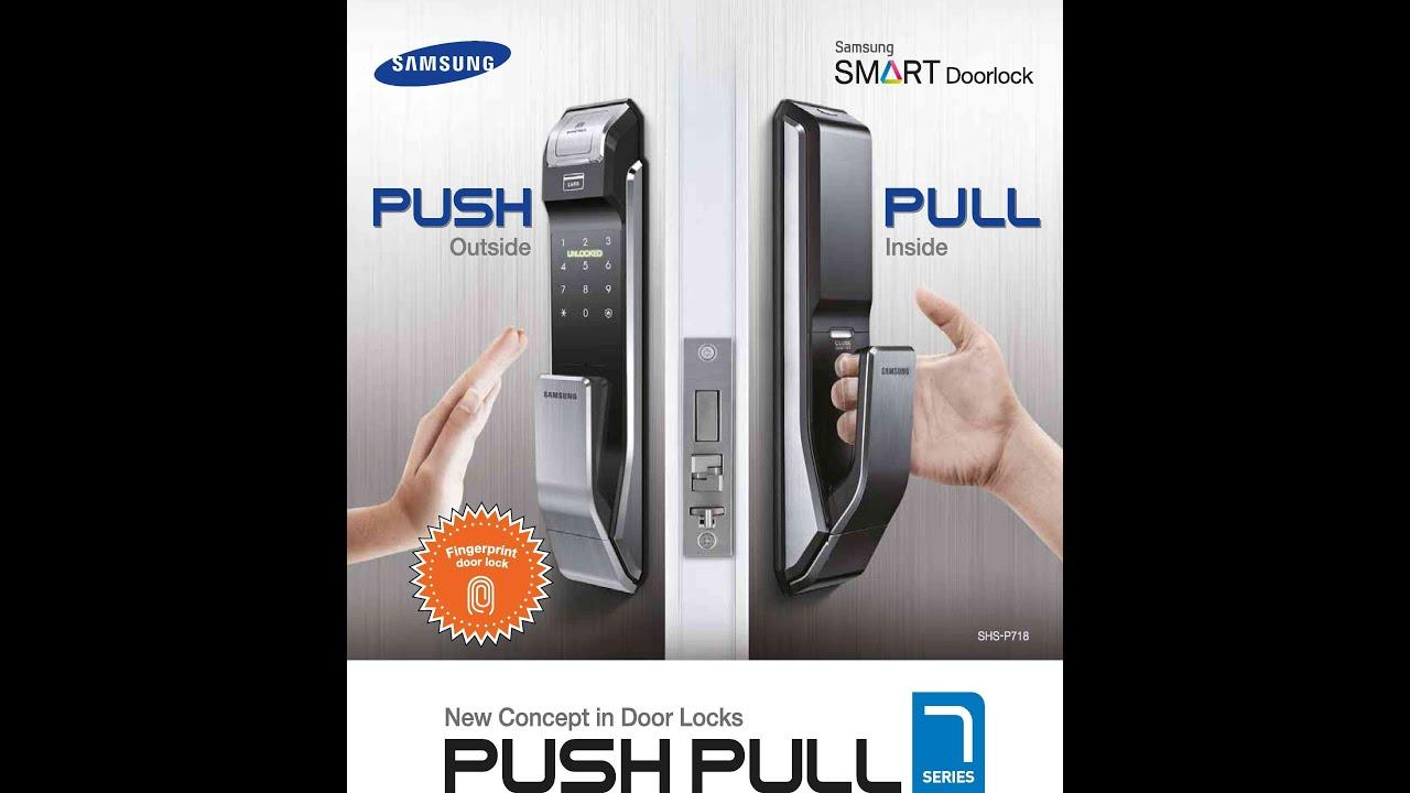 Samsung Door Locks SHS-P718 Exclusive to Overseas agent ...